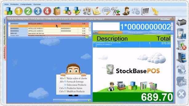Programa de control de stock