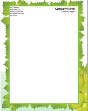 Descargar hojas membretadas gratis para Word 3
