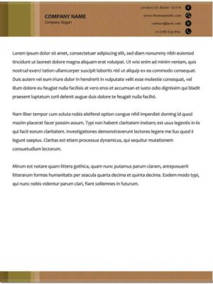 descargar modelos de hojas membretadas en word gratis 4