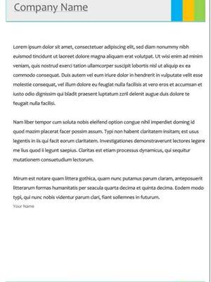 descargar modelos de hojas membretadas en word gratis 5