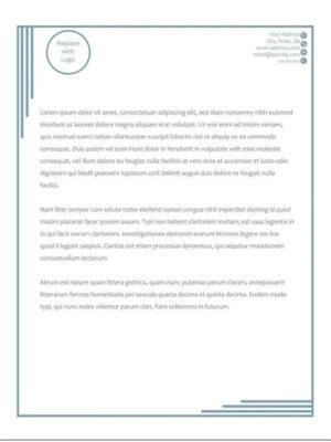 descargar modelos de hojas membretadas en word gratis 7